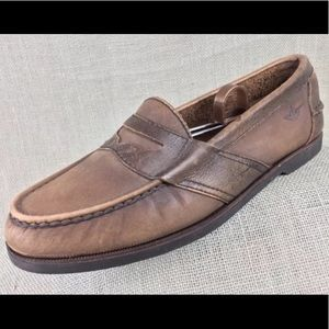 Loafers Penny slip on Dockers Leather Casual 8